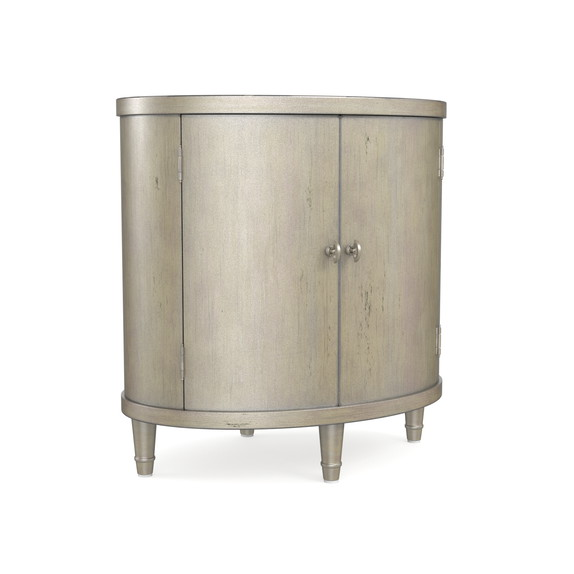 Classics Oval Nightstand (Shimmery Bronze)
