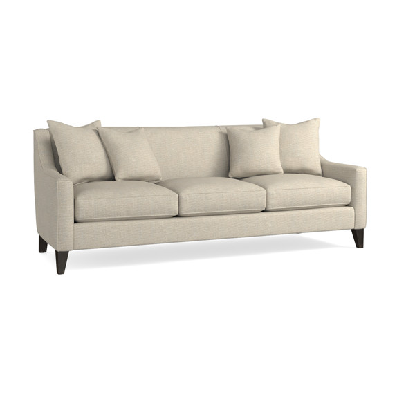 Lauren Sofa With Sloped Arms | Living Room | Bassett Furniture