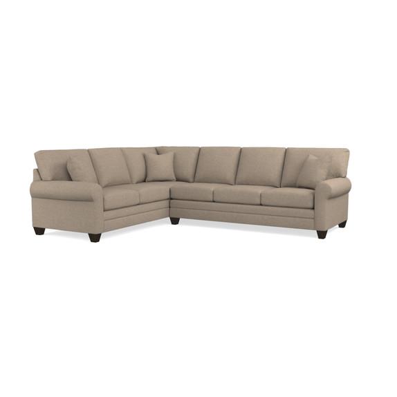L shape sectional sofa thesofa