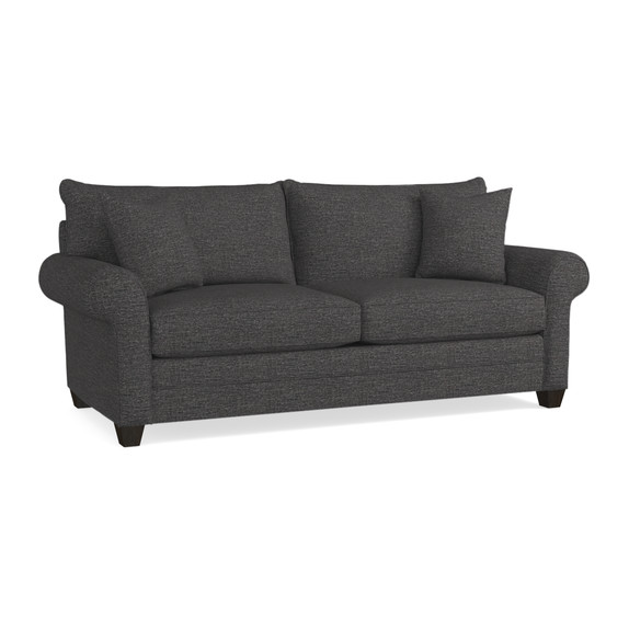 Alex Custom Sock Arm Sofa | Living Room Furniture | Bassett Furniture