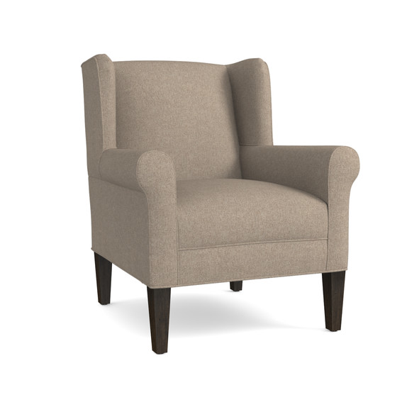 contemporary upholstered accent chair | bassett furniture