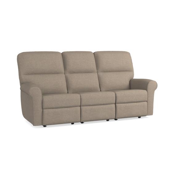 Motion Sofa ... - Solid Dove White Motion Sofa Bassett Home Furnishings