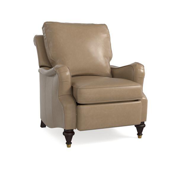 recliner recliner recliner recliner - Brown Leather Recliner