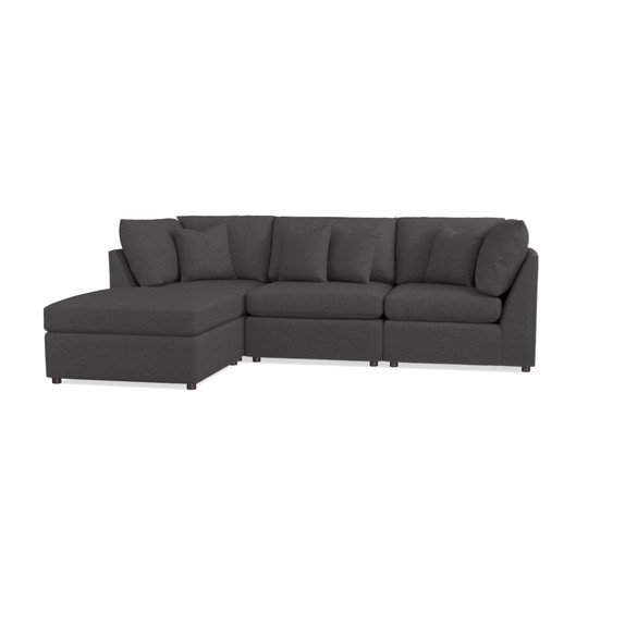 Small Chaise Sectional ...  sc 1 st  Bassett Furniture : bassett beckham sectional - Sectionals, Sofas & Couches