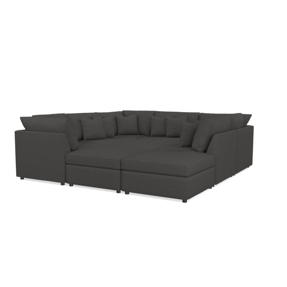 Pit Sectional. Beckham Upholstered Pit Sectional   Living Room   Bassett Furniture